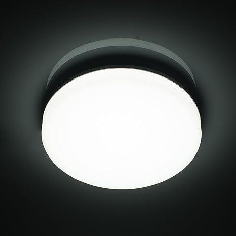 Attirant Öuesen Lamparas De Techo LED Modernas Delgado 18W Lampara Techo 1650LM  Plafones Led Techo Ronda IP44