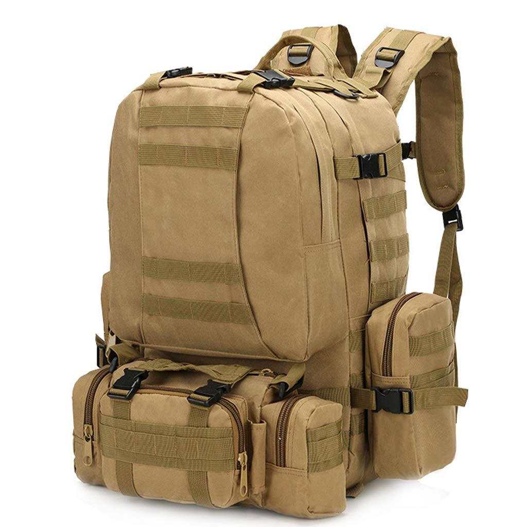 34d561b3eca0 LSLMCS 55l黒戦術軍事ギアバッグハンドバッグクロスボディバッグアウトドア旅行キャンプトレッキングハイキング