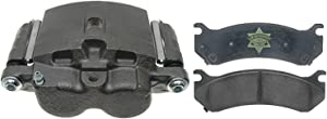 ACDelco 18R1378PV Specialty Front Disc Brake Caliper Assembly with Pads (Loaded), Remanufactured
