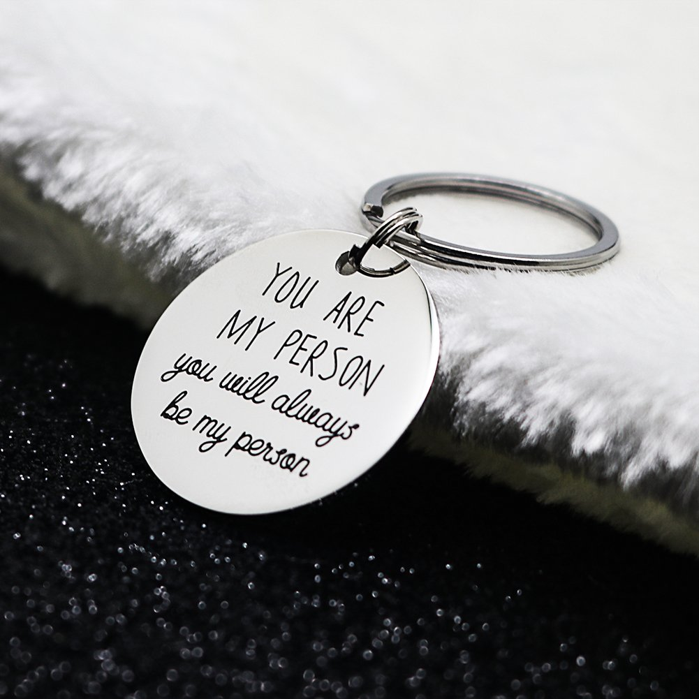 Wedding Gift Ideas For Best Friend Girl: Deal You Are My Person Gifts Keychain For Bff Best Friend