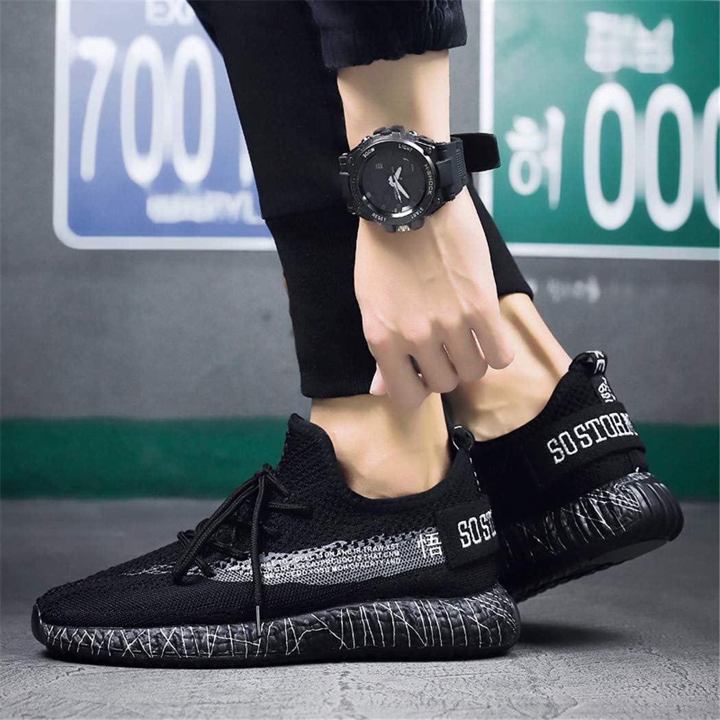 Mrh.Dar Basketball Shoes for Men Boy Knitted Minimalist Shoes Performance Tennis Walking Sneakers Basket Boots