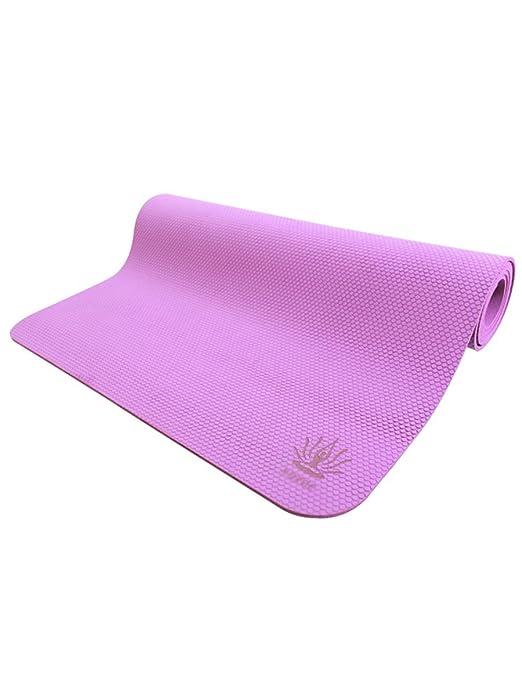 Yuhao - Esterilla de Yoga Antideslizante, 4 Colores, 4 mm ...