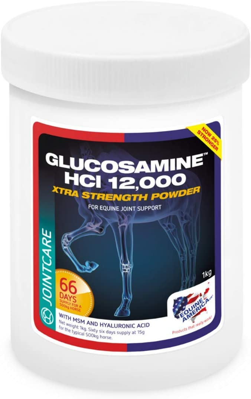 Equine America Glucosamina 12,000 Plus MSM + HA - 900g