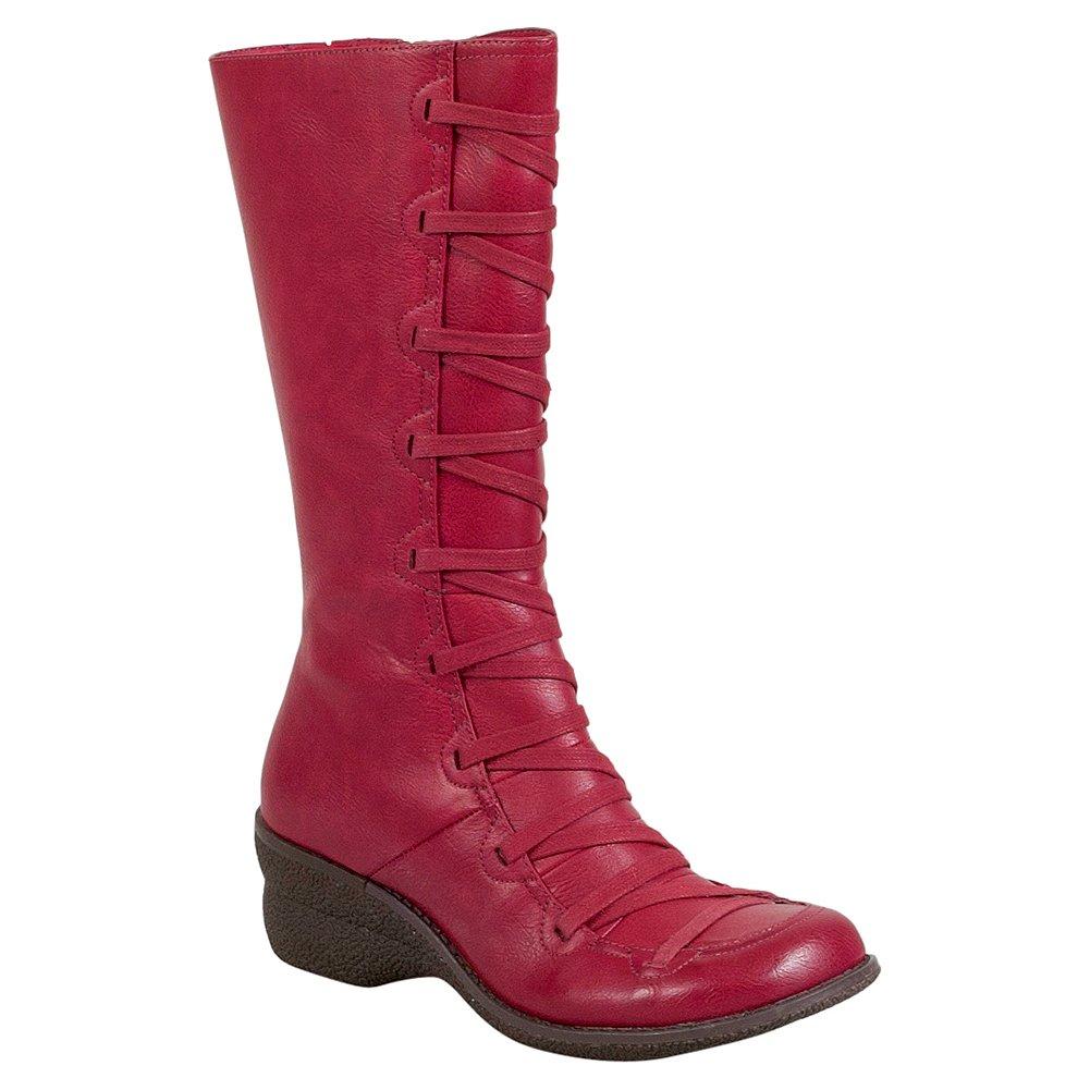 Miz Mooz Otis Women's Mid-Calf Boot B01M8JQBDI 41 M EU|Red