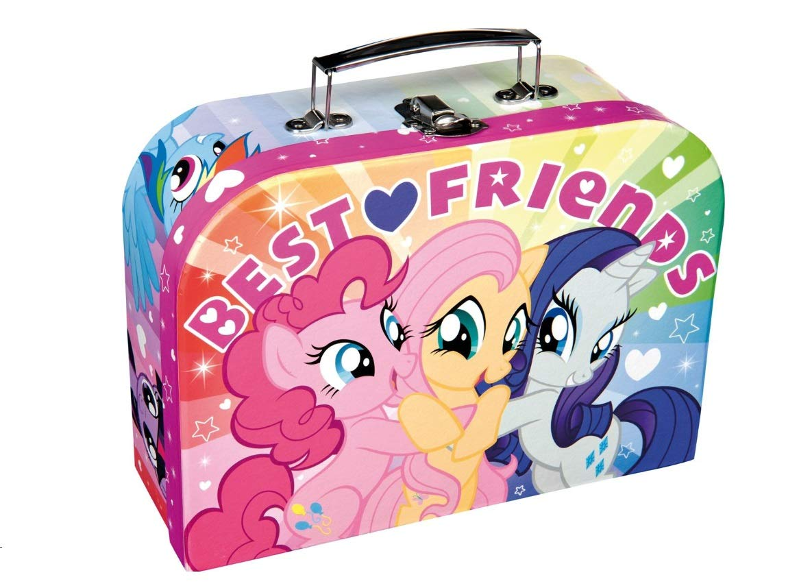 My Little Pony Best Friends Mini Travel Suitcase with Handle
