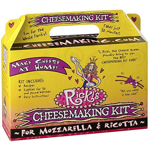 Kit Thermometer Food (Mozzarella and Ricotta Cheese Making Kit)