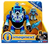 Fisher Price DC Super Friends Batman Imaginext Mr. Freeze & Robot 3 Figure Set