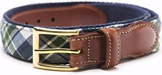 product image for Madras Leather Tab Belt- Mackinac