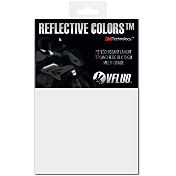 VFLUO 3M Reflective Colors™, Kit de Pegatina Retro Reflectante a Cortar para Casco de