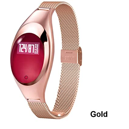 ZCPWJS Pulsera Inteligente Mujeres Z18 Smart Watch Fashion ...