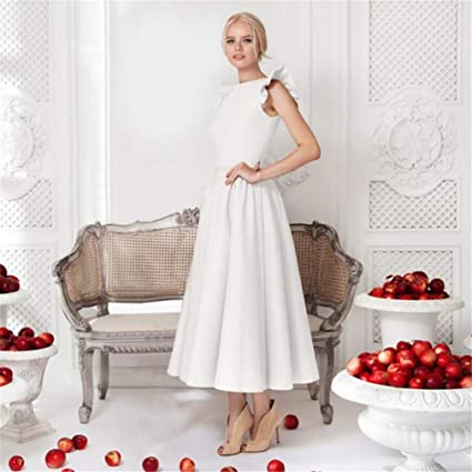 661c755fc4eeb Amazon.com: SPP PANDA Summer White Beach Dress Dresses for Girls ...