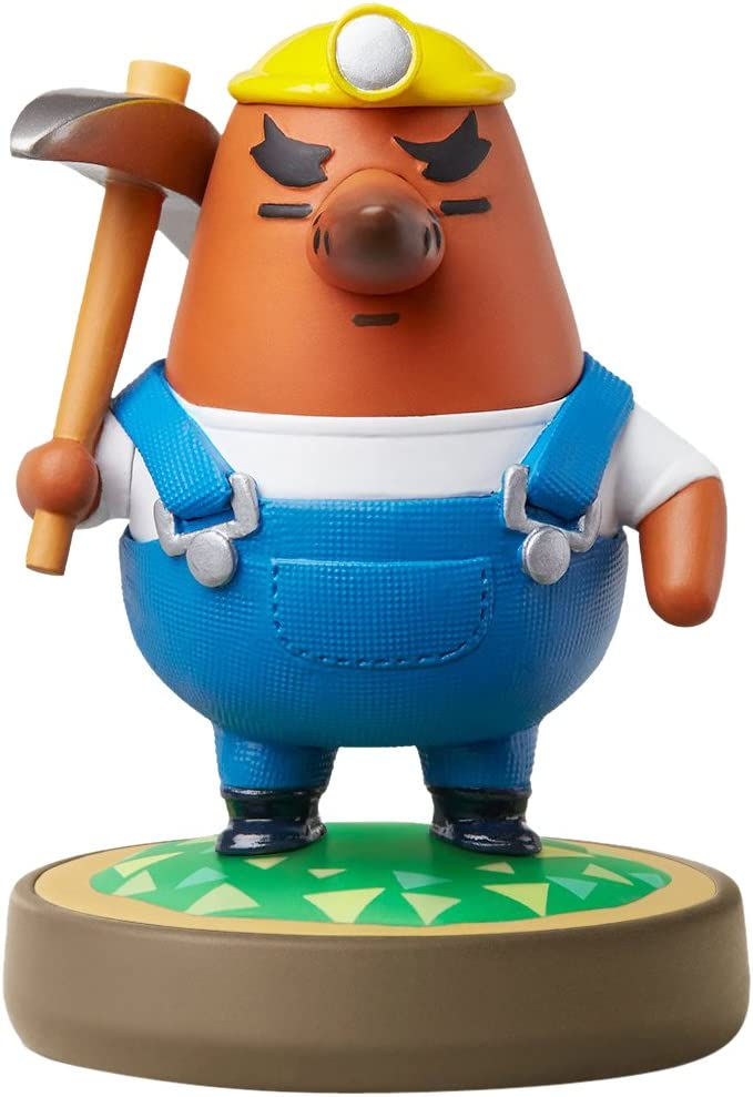 Mr. Resetti amiibo (Animal Crossing Series)