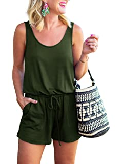 Teenage Ladies All In One Playsuit Cami Vest Top With Shorts Polka Dot Print