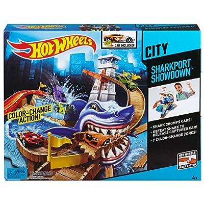 Hot Wheels Color Shifters Sharkport Showdown Trackset