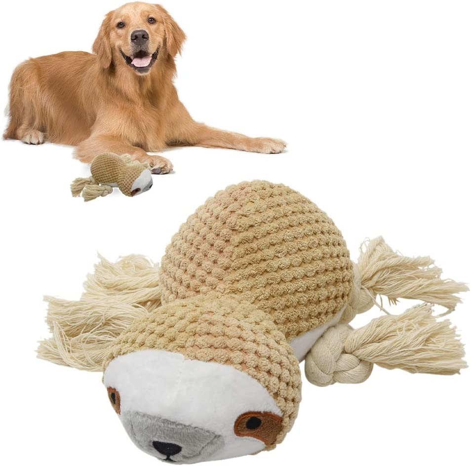 LKEREJOL Plush Dog Toys, Squeaky Dog Toys for Small Dog, Interactive Dog Toys Dog Chew Toys with Squeakers, Cute Soft Puppy Toys for Teeth Cleaning, for Small Medium Dogs