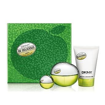 Donna Karan Dkny Be Delicious Edp Set 100+ Mini 7 + B/L 100-0.3 ml: Amazon.es