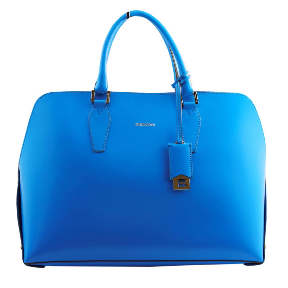 (ゲラルディーニ) GHERARDINI レザー トートバッグ GH2120 AZUL ブルー [並行輸入品] B071VST2R5