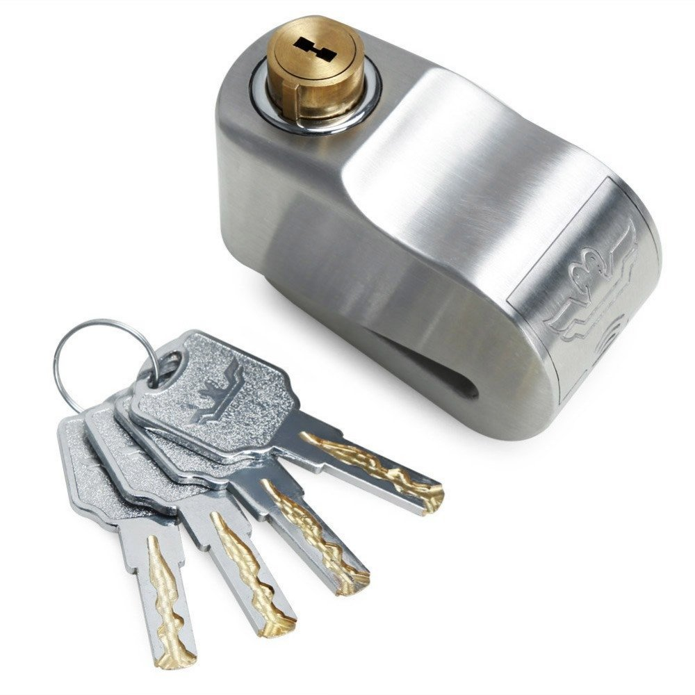 Universal 120db 304 Stainless Steel Anti-theft Disc Brake Lock Alarm Lock (DS-B2)