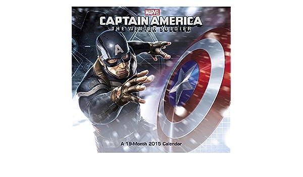 Capitán América el Soldado de Invierno 2015 calendario de ...