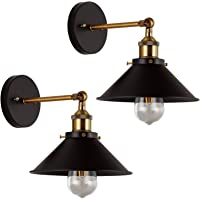 2-Pk. JACKYLED Wall Sconces Vintage Edison Lamp