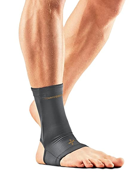 a505e765cf Tommie Copper Men's Recovery Thrive Ankle Sleeve, Slate Grey, Small
