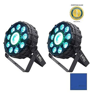 Chauvet DJ FXpar 9 DMX Multi-Efecto LED, SMD RGB + UV estroboscópica luz de la igualdad: Amazon.es: Instrumentos musicales