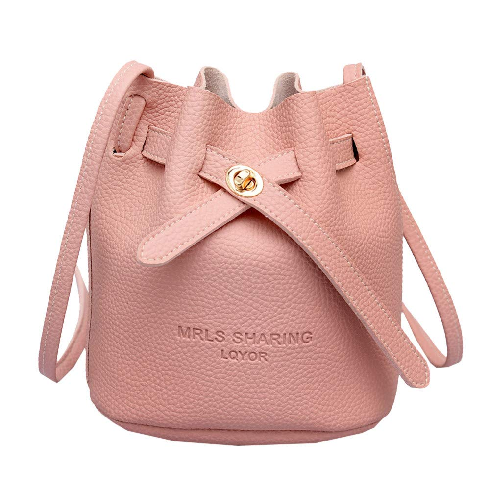 BOLUOYI Women Shoulder Bag Messenger Satchel Tote Crossbody Bag Phone Bag Bucket Bag Backpack Handbags Black