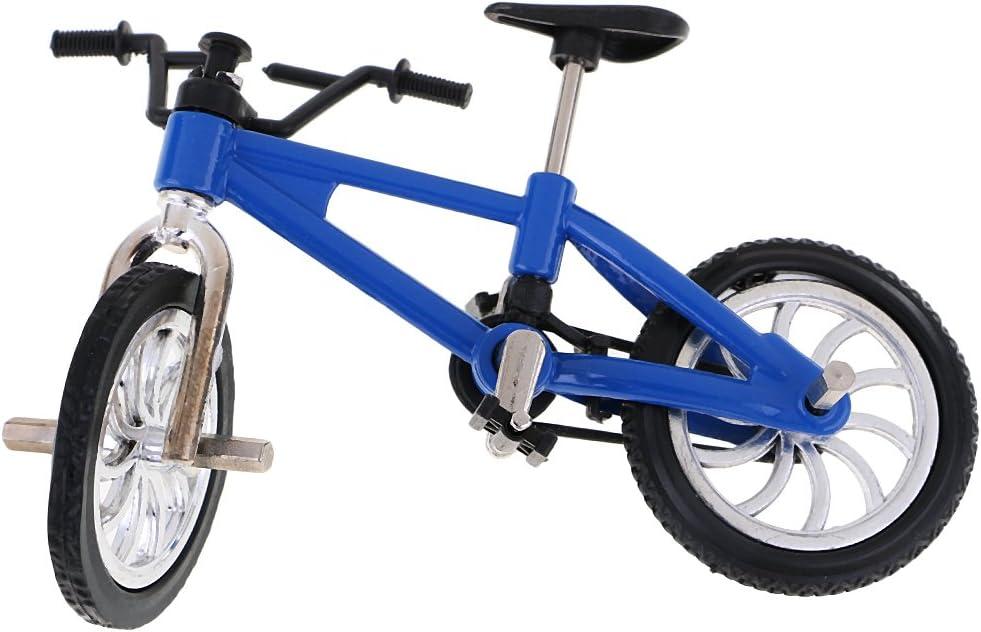 MagiDeal Bici de Dedo Ruedecilla Juguete de Bicicletas - Azul ...