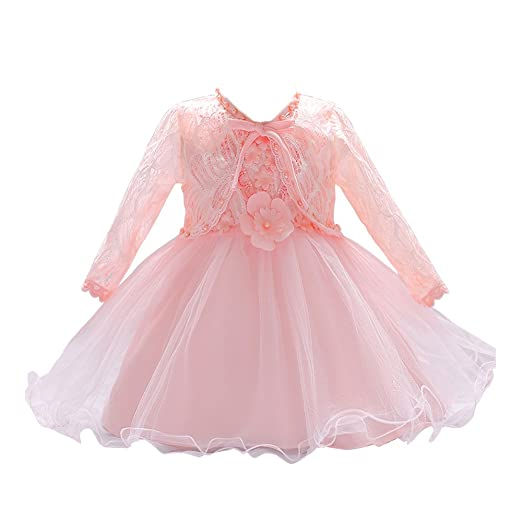 1b6915c170a2b LZH Baby Girl Dress Formal Baptism Gowns Pageant Dress Toddler