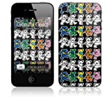 Zing Revolution MS-GRFL10133 Grateful Dead-Dancing Bears Cell Phone Cover Skin for iPhone 4/4S