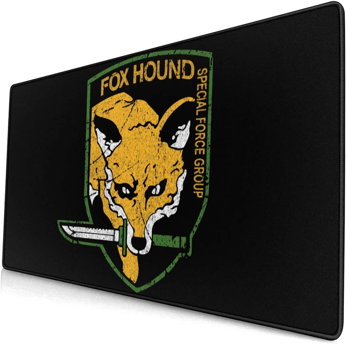 Metal Gear Solid Fox Hound Grace-Ra Large Gaming Mouse Pad 15.8 X 29.5 Inch