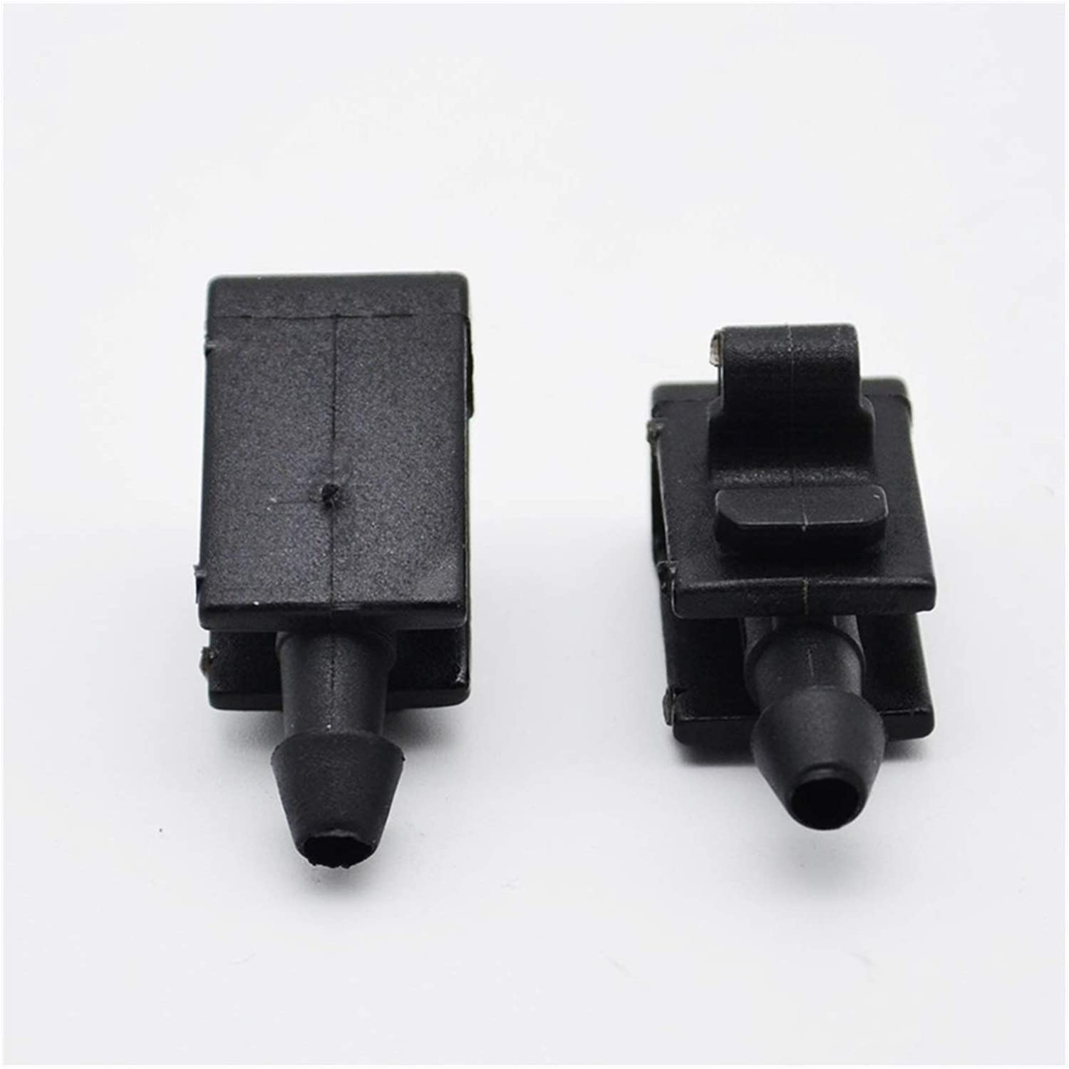 Megane MK 2 3 2003 2004 2005 2006 2007 2008 2009 for Windshield Color : Black KTSM-Stop-T Wiper Washer Water Nozzle 2Pcs//set Front Windscreen Washer Nozzle Jet For Renault Grand Scenic 2