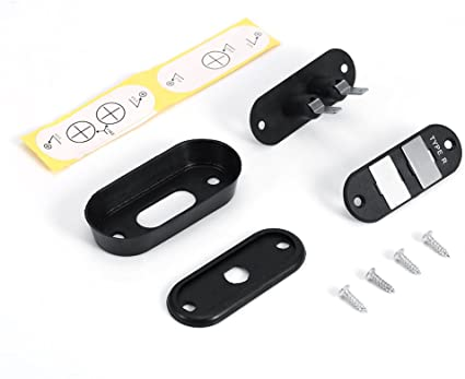 Black Sliding Door Contact Switch Car Van Central Locking Systems For VW