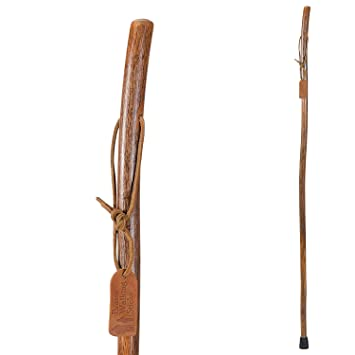 735b013df8994 Brazos Trekking Pole Hiking Stick for Men and Women Handcrafted of  Lightweight Wood and made in...