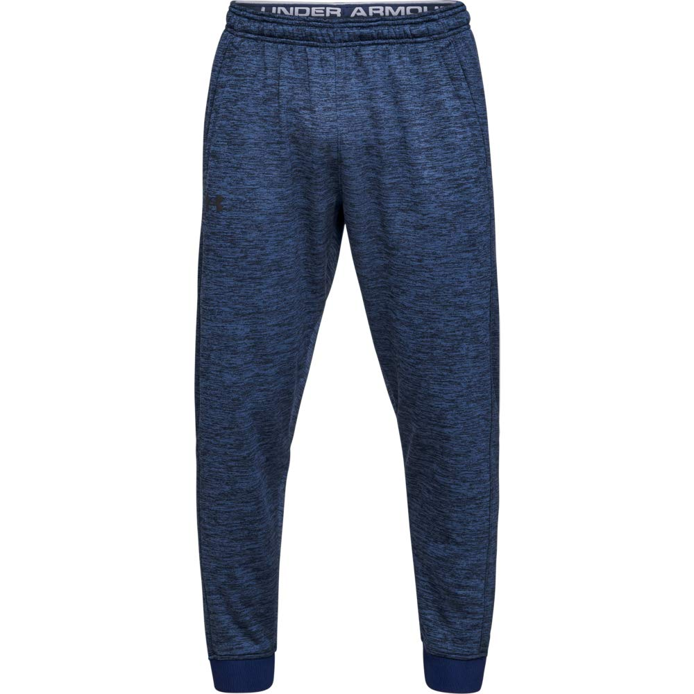 Under Armour Armour Fleece Jogger Pantalones, Hombre, Azul (Academy/Black 408), M