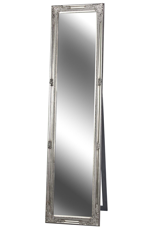 Standspiegel Spiegel antik silber MADISON 160 x 40 cm B.U.S. Wohnstyle GmbH