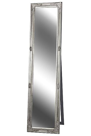 Standspiegel Spiegel Antik Silber Madison 160 X 40 Cm Amazon De
