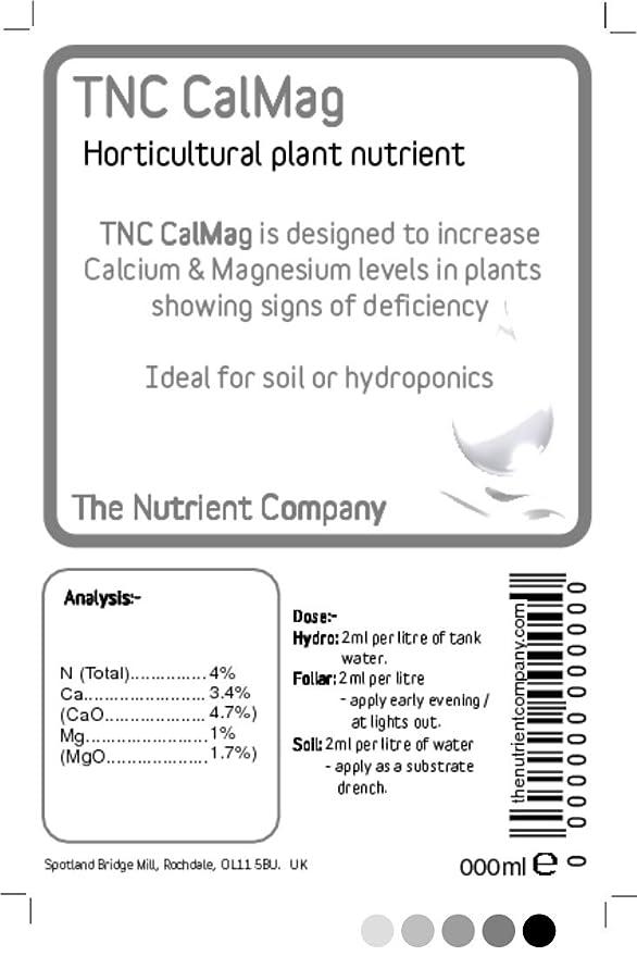 TNC CalMag - tratamiento de calcio y magnesio deficiencia de nutrientes en plantas - EG. Blossom final rot: Amazon.es: Jardín