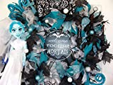 READY TO SHIP! The Haunted Mansion Ghost Bride Halloween Wreath Decor Disney, Gift, Door, Decoration, Floating Light up Candelabra, Welcome Foolish Mortals