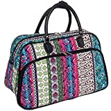 Wome's 21'' Bohemian Carry On Bag (Black Trim)