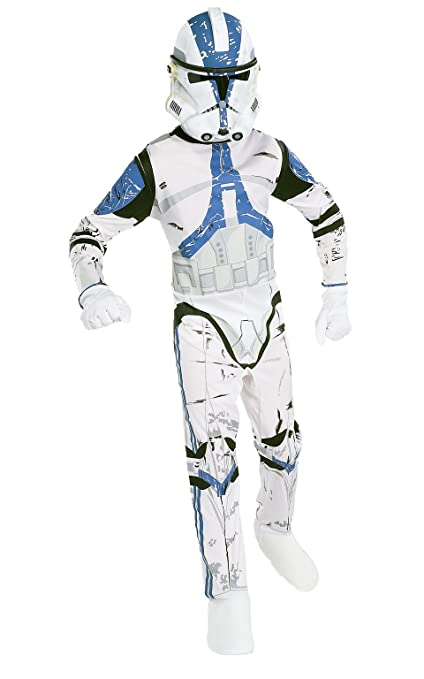 Star Wars Childs Clone Trooper Costume, Large