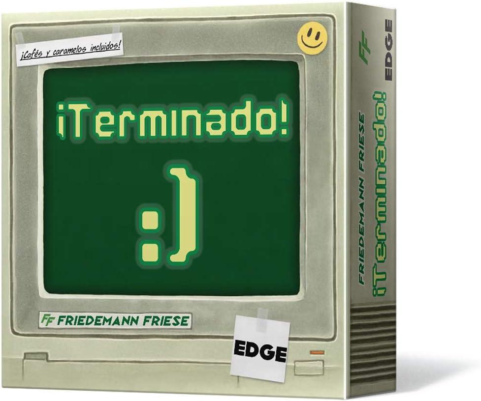 Edge Entertainment-¡Terminado-Juego de mesa (EE2FFH01) , color/modelo surtido
