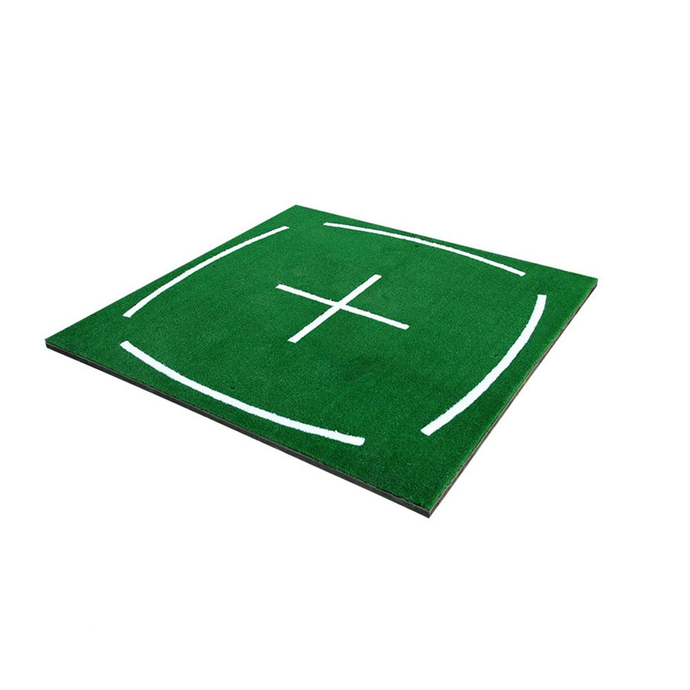 PGM Golf Course Hitting Mat Driving Range Practice Mat----4.92FT X 4.92FT, With Alignment Line, Teaching Equipments by PGM (Image #2)