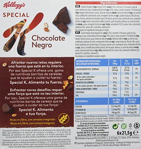 Special K - Barrita De Cereales con Chocolate, 6 x 21, 5 g - [Pack de 7]: Amazon.es: Alimentación y bebidas