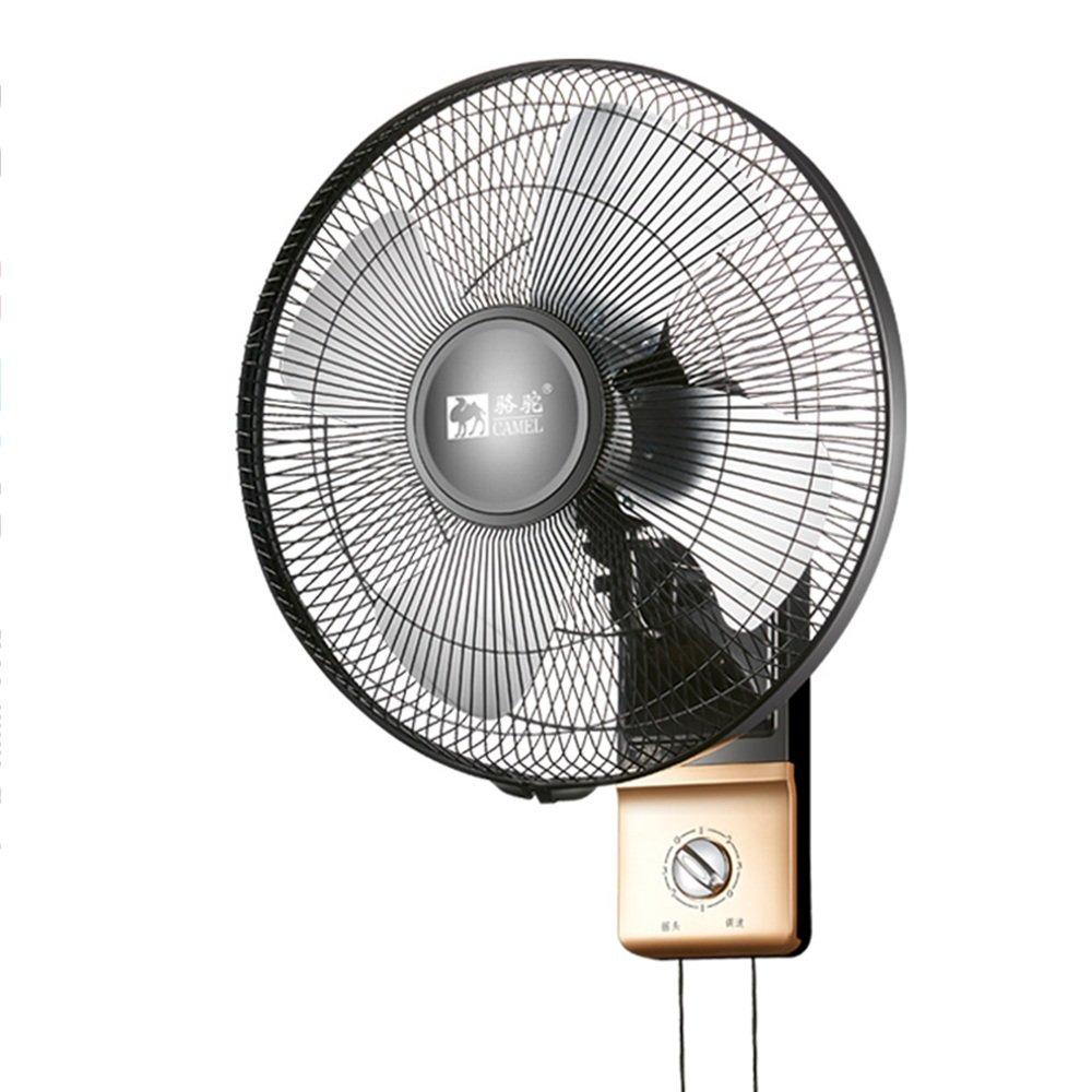 DD-空気冷却器 扇風機 ウォールファン ウォールタイプ 家庭 壁 Gua Bi 揺れる頭掛けファン 金属アルミニウム葉 レストラン -冷蔵庫   B07FX2C2XY