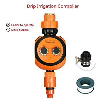 Amazon.com: New Hose Faucet Timer Pathonor Double Dial Accurate ...