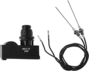 BBQ Future 2 Outlet Grill Igniter Kit, Grill Ignitor with Ceramic Electrode and Wire, Grill Ignitor Replacement Parts, CE/CSA Certified
