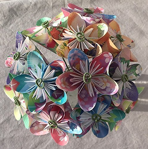 Floral Fantasy Origami Flower Bouquet