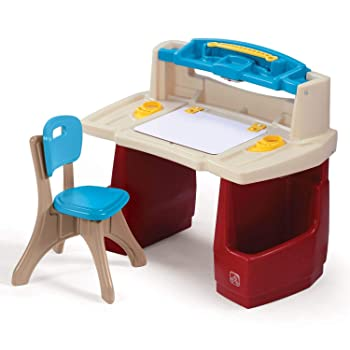 Step2 Deluxe Art Studio Desk Combined Kid Easel