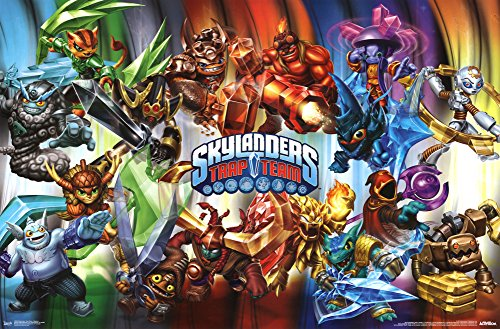 Skylanders Trap Team - Masters Poster 34 x 22in